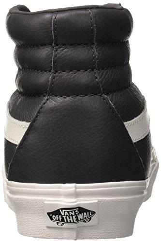 Blanc Sk8 Leather Baskets Hautes asphalt Vans Adulte Gris Mixte hi Reissue BOWq6g