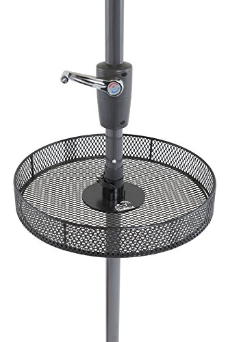 Tailbrella Umbrella Table For All Standard Umbrella Poles. Patented Designed for Tailgating, Camping, Outdoors, Hunting, and Beach. Fits Umbrellas by Tailbrella