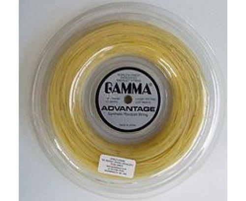 Gamma Advantage Tennis String - 720ft Reel (White - 15L Gauge)
