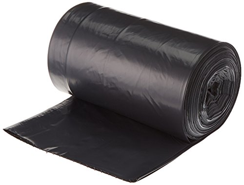 AmazonBasics 23 Gallon Slim Trash Can Liner, 1.6 mil, Black, 250-Count by AmazonBasics (Image #2)