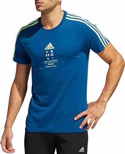 9dd1761d471f1 Shopping adidas - Blues - Shirts - Clothing - Men - Clothing, Shoes ...