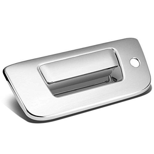 Chevy Silverado/GMC Sierra Tail Gate Exterior Door Handle Cover with Keyhole (Chrome) (Gmc Sierra Denali Tailgate Handle)