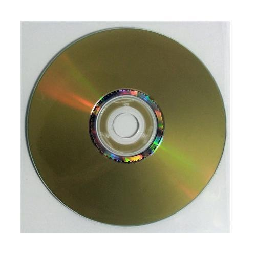 Polypropylene Cd / Dvd - 500 Pack Polypropylene (CPP) Clear Plastic CD DVD Sleeves - No Flap