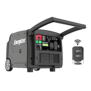 Energizer eZV3200P 3200W Portable Inverter Generator, 3200 Watt