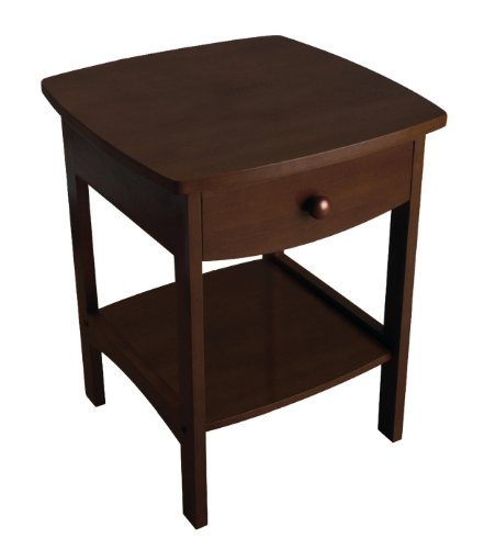 Bed Cherry Natural (Winsome Wood Accent Table, Walnut)