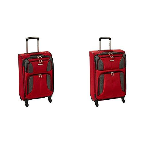 "Samsonite Aspire Xlite Two-Piece Spinner Set (20""/25""), Red"