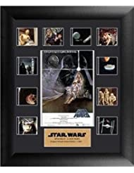 Star Wars A New Hope Mini Montage 11 X 13 Film Cell Rare Limited Edition COA