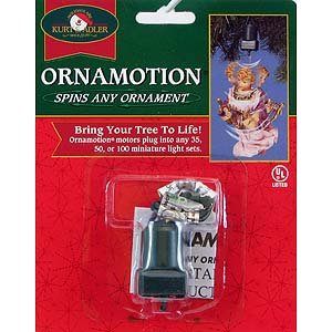 Holiday Ornament TWIRL-IT MOTOR J7804 Animate Tree Ornament New