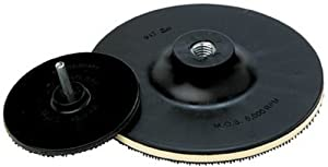 "3M 915 Abrasive Disc Pad Holder, 5"" x 1/8"" x 3/8"" x 5/8-11 Internal (Pack of 1)"