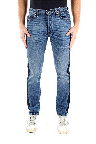 Jeans Valentino Hombre Algodón Azul Denim KV0DEJS131K598 Azul 33