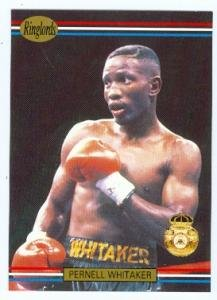 Pernell Whitaker trading Card (Sweet Pea Boxing Champion Boxer) 1991 Ringlords #34
