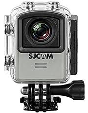 SJCAM Alman Version su geçirmez Sport sporları kamera aksesuvarı (3,81cm (1,5inç), 4K/2K, WiFi, 30m, 16MP, Gyro Anti-Shake, 16aksesuar)