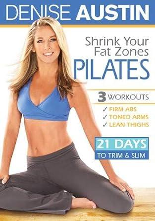 Amazon Com Denise Austin Shrink Your Fat Zones Pilates Denise Austin Cal Pozo Cal Pozo Movies Tv