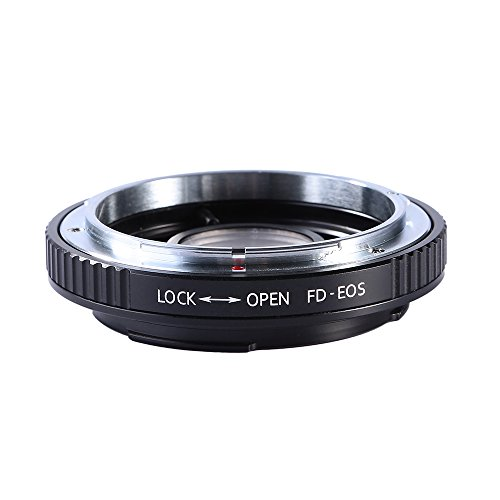 Beschoi Lens Mount Adapter for Canon FD Lens to Canon EOS (EF, EF-S) Mount SLR Camera Body, Fits Canon 1D, 1DS, Mark II, III, IV, Digital Rebel T5i, T4i, T3i, T3