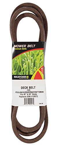 Maxpower 336138 Primary Deck Belt for 46