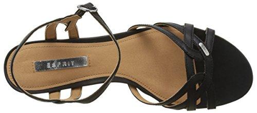 001 Sandalen Zwart Hermes Dames Open Sandaal Esprit wq61UpW