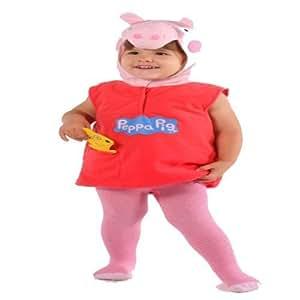 Peppa Pig Costume Dress up Halloween Age 2-3 Years