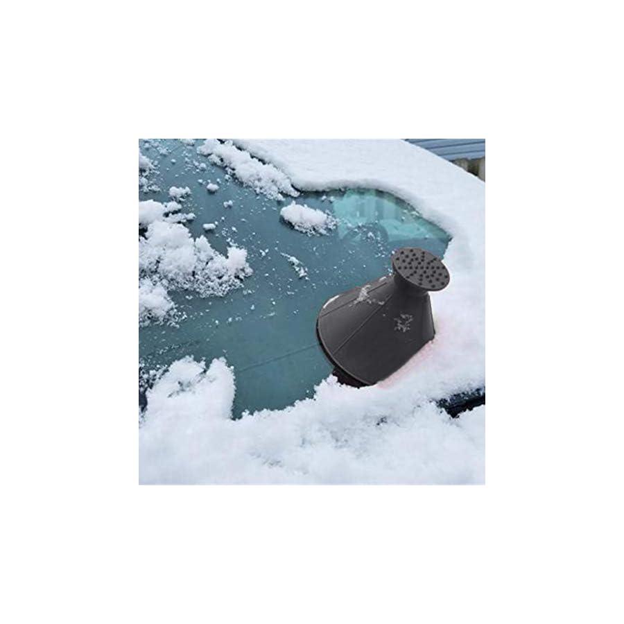 Jumberri Car Care Magic Windshield Ice Scraper Snow Shovel Handle Cone Shaped,14.5cm