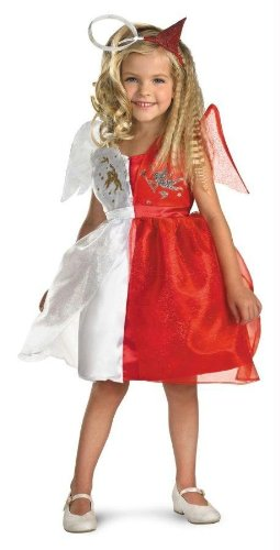 Angel Costumes For Little Girls (Devilish Angel Toddler Costume)