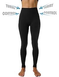High Waist Tummy Compression Control Slimming Leggings...