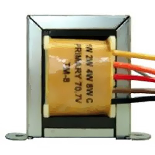 - Pure Resonance Audio PRA-TM8 70 Volt Transformer Audio Sound Applications 1, 2, 4, 8 Watt Taps