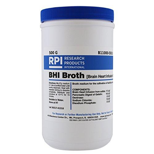 RPI B11000-500.0 BHI Broth, 500g