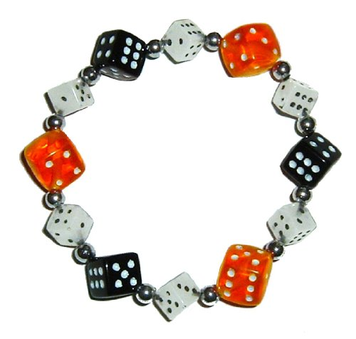 Halloween Dice Bracelet by Bunco Game Shop