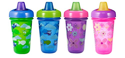 The First Years Soft Spout Stackable Sippy Cups - 2 Pack (May get Blue/Green or Pink/Purple)