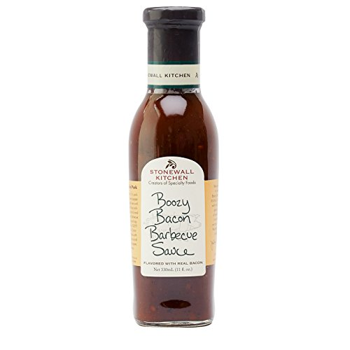 Stonewall Kitchen Boozy Bacon Barbecue Sauce - 11 Ounce