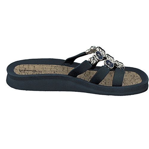 Abierto Linea Mujer Zapatos Santos Scarpa Zapato Azul Baño Marino De qEZE1TWx