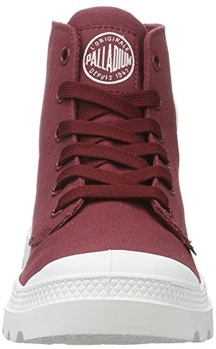 Palladio Unisex-erwachsene Blanc Hi Sneaker Rot (melograno / Bianco / Bianco)