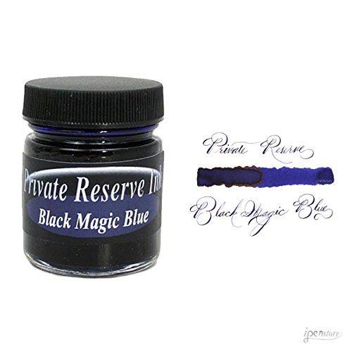 Private Reserve 66 ml Bottle Fountain Pen Ink, Black Magic Blue