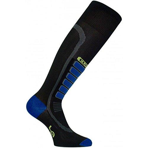 Eurosocks Sliver Ski Light Sock, Black, ()