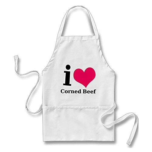 I love Corned Beef Adult Apron