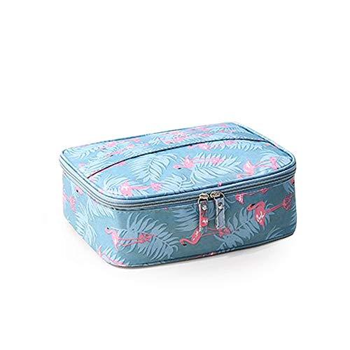 Divinext Women's Zipper Polyester Makeup Organiser Toiletry Bag Kits