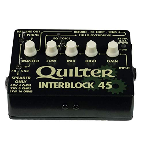 Quilter InterBlock 45 45-Watt Guitar Amplifier/Preamp Pedal by Quilter (Image #1)