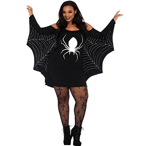 Spider Halloween Hoodie Black Black Dress Costume Womens Adult LIYIZO Hood Purple Fancy C4dwEqd