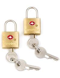 Travel Sentry 2-pack Key Locks, Brass