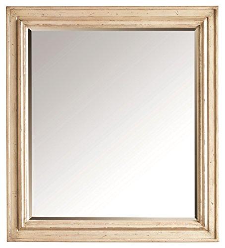 Stanley 007-23-30 European Cottage Landscape Mirror, Vintage White (Stanley White Mirror)