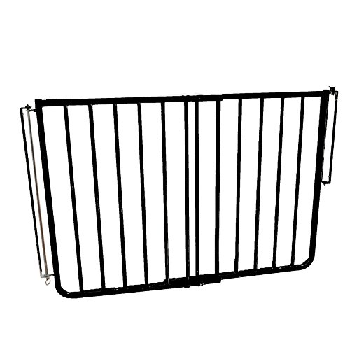 (Cardinal Gates Outdoor Safety Gate, Black)