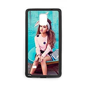 Custom Miley Cyrus Phone Case Cover Protection for Samsung Galaxy Note 4 (Laser Technology) TPU