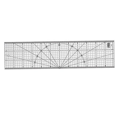 Olfa MQR-15x60 Patchwork Ruler 15 x 60 cm (6 x 24 Inches)