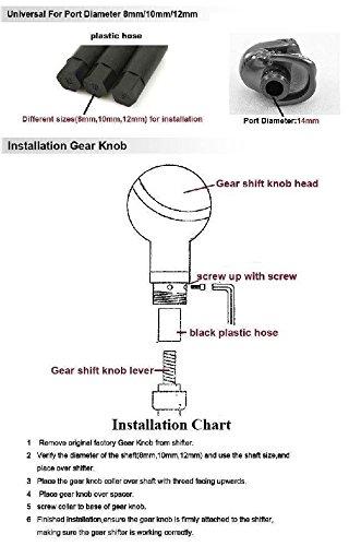 Universal Custom Super Mario Stick Shift Knob Shifter Gear Nissan Manual