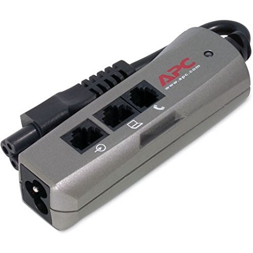 APC PNOTEPROC6 APC SURGEARREST NOTEBOOK 120V SURGE SUPPRESSOR NOTEBOOKPRO C6 RJ11 RJ45 -