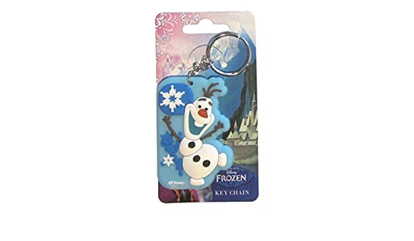 Disney Frozen Elsa Anna Or Olaf Llavero de Goma Grande (Olaf ...
