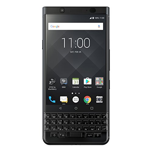 "BlackBerry KEYone Black Edition Unlocked GSM Android Smartphone - 4.5"" Screen, 64GB, 12MP Rear Camera"