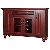 Eagle Orleans Entertainment Console, 60, Burnt Cinnamon Finish