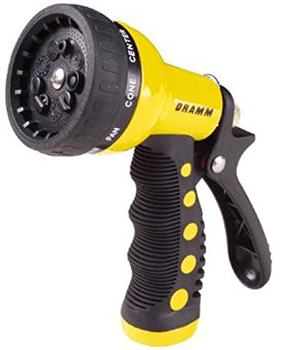 Dramm Sprayer (Dramm Revolver 9-Pattern Spray Carded Gun, Yellow)