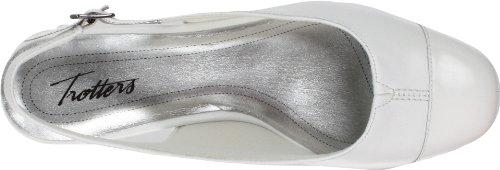 Trotters Dea Damen Wei Schmal Leder Pumps Schuhe Gre Neu/Display EU 36,5