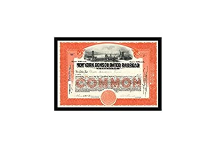 Amazon.com: Buyenlarge New York Consolidated Railroad Company Print ...